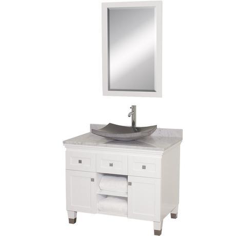 The 36 inch Premiere white vanity