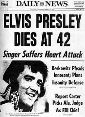 The day Elvis died