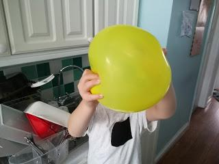 Calming Down An Angry Balloon #parenting