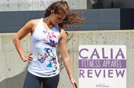 CALIA Fitness Apparel Review