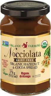 Enjoy a Tasty Return to School with Nocciolata Dairy Free Organic Hazelnut & Cocoa Spread from Rigoni di Asiago!