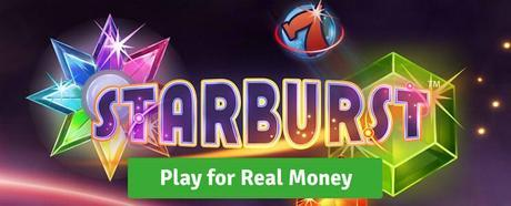 NetEnt's Starburst Slot review play for real money