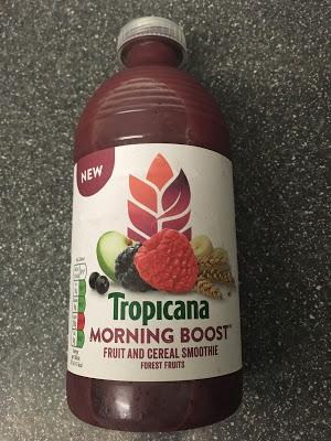 Today's Review: Tropicana Morning Boost Forest Fruits