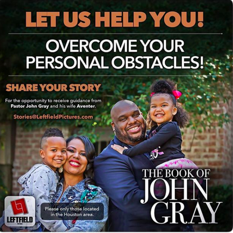 """""""The Book Of John Gray"""" Prepping For  2nd Season & Want To Feature You On The Show"""