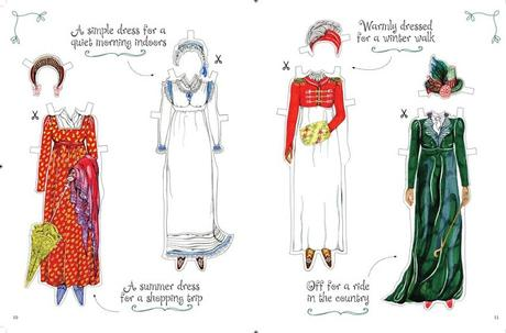 DRESS-UP JANE AUSTEN: DISCOVER HISTORY THROUGH FASHION.  WIN A COPY!