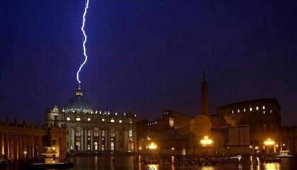 Lightning Vatican