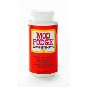 Image: Mod Podge CS11202 Original 16-Ounce Glue, Gloss Finish - Quick-drying for multiple coat build up