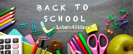 Back To School With Labels 4 Kids