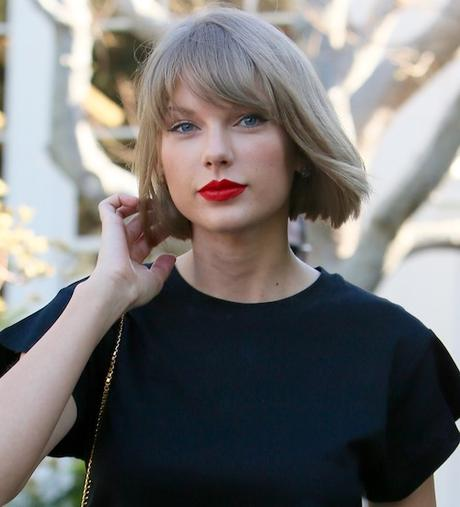 Taylor Swift seen leaving Isabel Marant