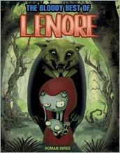 The Bloody Best of Lenore HC Cover