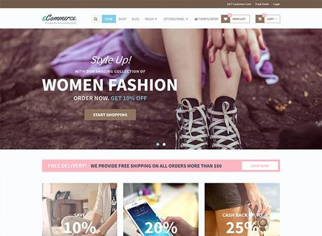 5+ Amazing Woocommerce Themes for WordPress