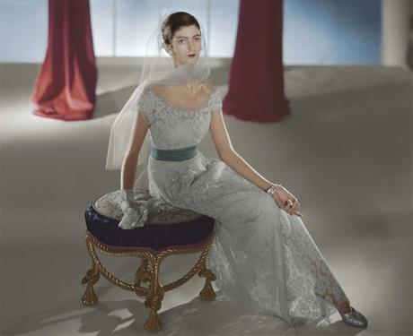 Hattie-Carnegie-After-Dinner-Dress-in-1947---Photo-Horst-P-Horst