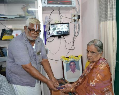 spectacles distributed at SYMA - remembering KE Raghavan