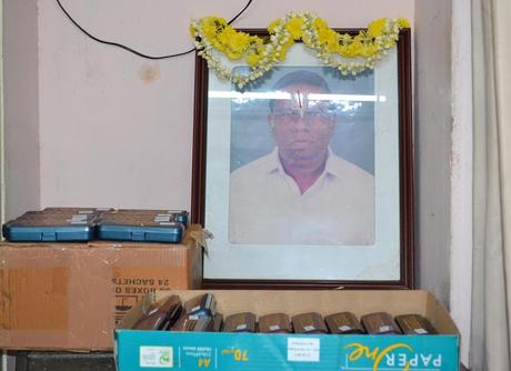 spectacles distributed at SYMA - remembering KE Raghavan
