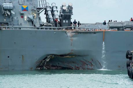 US Naval Ships collide ~ is it possible to avoid collisions ?