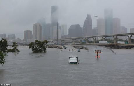 Hurricane Harvey batters US .. .. .. Nature's fury 2017