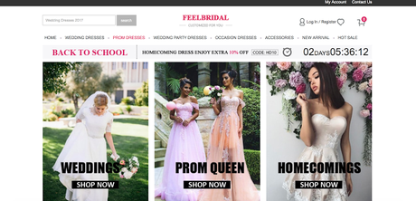4d2522b4a85 Shop For Your Prom Dress at FEELBRIDAL - Paperblog