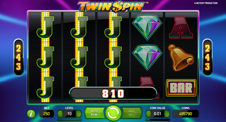 NetEnts Twin Spin slot