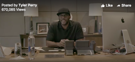 Tyler Perry Donates $250,000 to Joel Osteen & Beyonce's Pastor's Church In Houston [VIDEO]