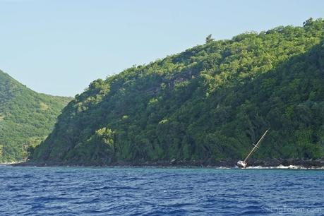 Martinique hurricane shipwreck