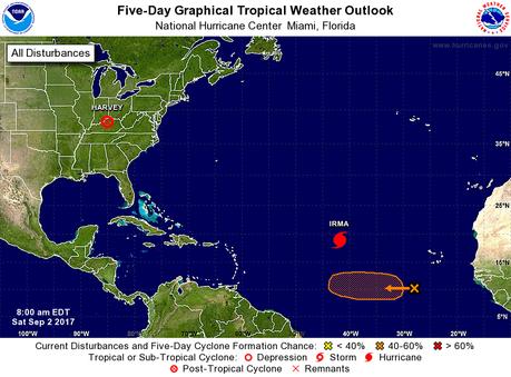 NOAA Atlantic Tropical Outlook Sept 2