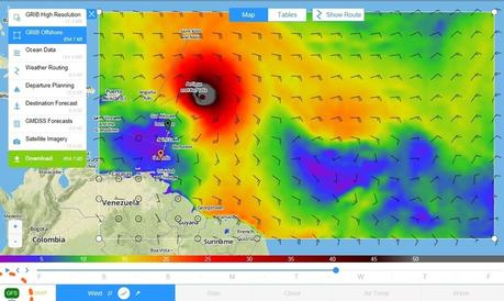 PredictWind tropical weather