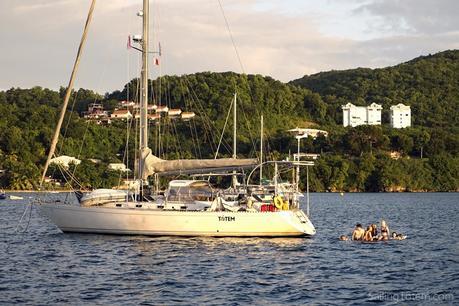 Totem sailboat Martinique