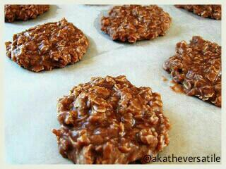 No bake coconut oil oatmeal cookies using Merit VCO Extra Virgin Coconut Oil
