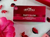 Aroma Leaf PARTY GLOW Facial Review