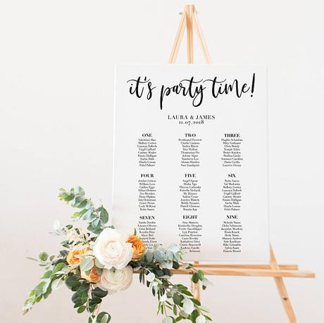 10 Unique (+ mostly easy!) DIY Seating Chart Ideas For Your Wedding Reception