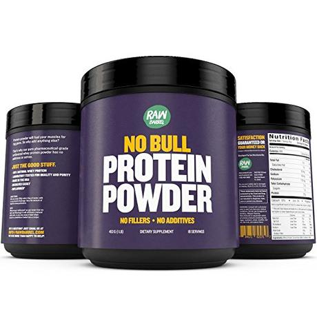 Raw Barrel Whey Protein Powder Review – NO BULL –