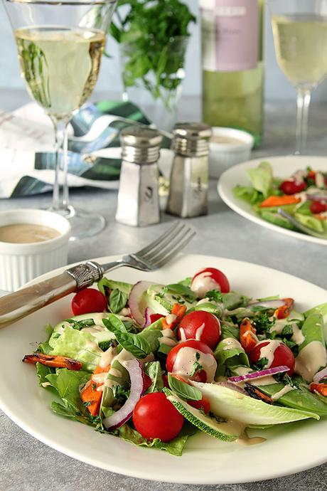 French Laundry Salad with Mustard Vinaigrette