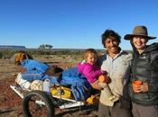 Austrialian Family Trekking 1800 Across Outback Together