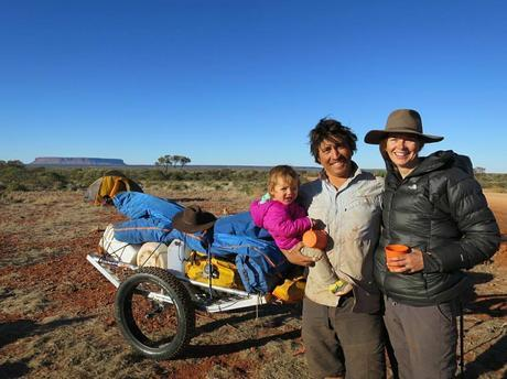 Austrialian Family Trekking 1800 KM Across the Outback Together