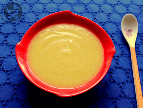 Introduce your baby to healthy grains like amaranth with this amaranth flour pumpkin porridge for babies.