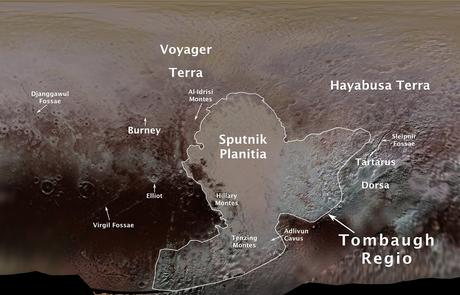 Edmund Hillary and Tenzing Norgay Immortalized on Pluto