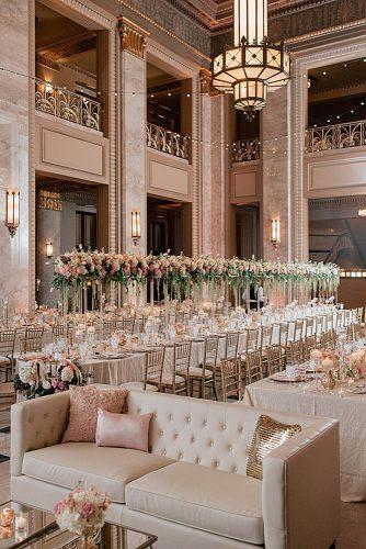 30 Glamorous Rose Gold Wedding Decor Ideas Paperblog