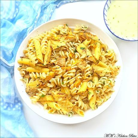 Lemon Butter Pasta with Artichoke...eyes, hearts and habits!