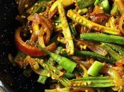 Achari Bhindi Pyaz:Okra Pickle Spices
