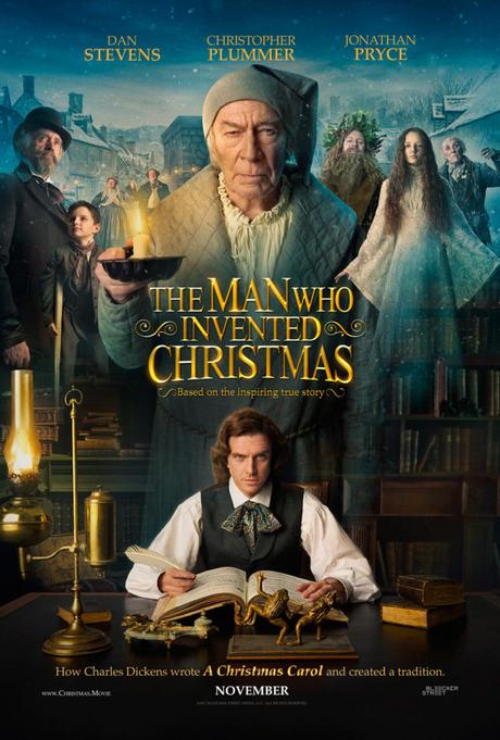The Man Who Invented Christmas Trailer And Poster [WATCH]