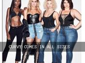 High Waist Jeans Curvy Figure Paired with Printed Crop Top: Lookbook