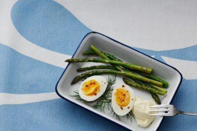 Boiled Eggs with Mayonnaise