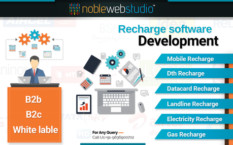 Mobile Recharge and Bill Payment Software for B2B, B2C Business