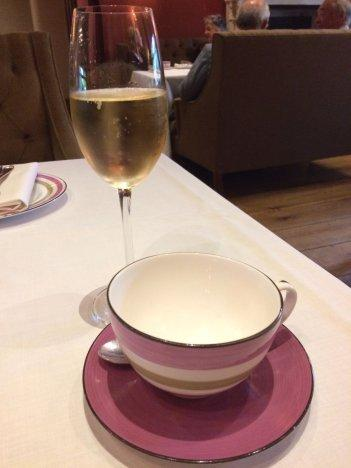 Enjoy a luxury champagne afternoon tea at Surrey's Great Fosters Hotel