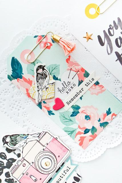 Maggie Holmes Design Team : Altered Tags