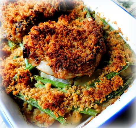 Autumn Pork Chop Dinner