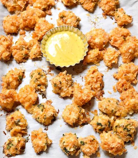 Oven Baked Popcorn Chicken