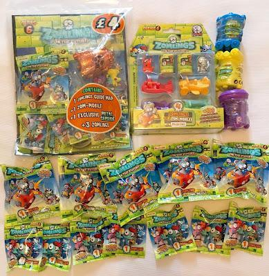 Zomlings of The Future - Series 6 has Arrived