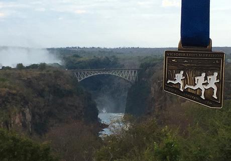 The 12th Econet Victoria Falls Marathon