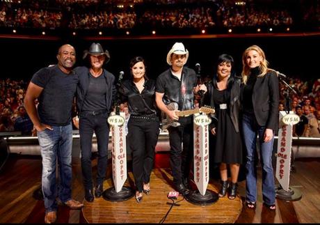 CeCe Winans, Usher, Demi Lovato, Tim McGraw & Faith Hill & More #HandInHand Benefit At Grand Ole Opry [PICS]